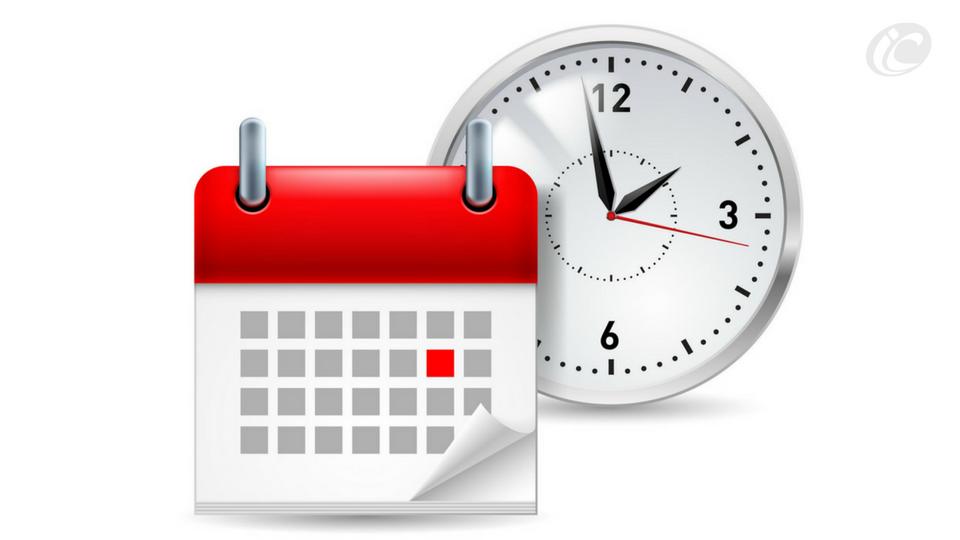calendário de entrega dos trabalhos